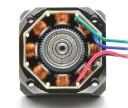 NEMA 23 Step Motor: Bipolar, 200 Adım / Devir, 3.2V, 2.8 A/Faz, PL-1478 - Thumbnail