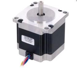 Pololu - Hibrit Step Motor, Tek kutuplu/Bipolar, 200 Adım/Dönme, 57x56mm, 7.4V 1A / Faz