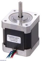 Pololu - Step Motor: Unipolar-Bipolar, 200 Adım/Devir 42×48mm, 4V, 1.2 A/Faz PL-1200