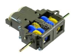 Pololu - Tamiya 70168 Mobil Robotlar için Dual Bağımsız Dişli Takımı (GearBox) Kiti