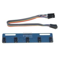 - TCRT5000L 5'li Çizgi İzleyen Sensör