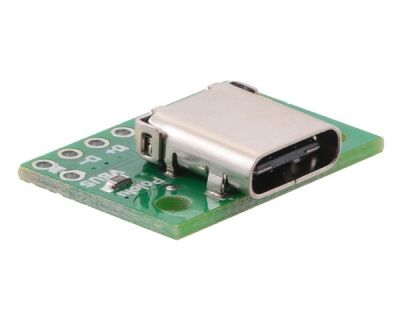 Pololu USB 2.0 Tip-C Konektör Breakout Kartı PL-2585