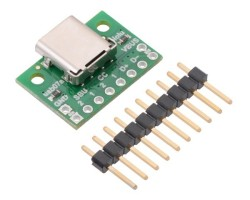 Pololu - USB 2.0 Type-C Connector Breakout Board