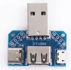 - USB Dönüştürücü Terminal Micro Usb-Type-C USB 3.1