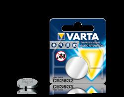 Varta Professional Electronics CR2032 Özel Pil