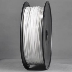 Wanhao - Wanhao Premium Filament PLA 3,00mm White - Beyaz