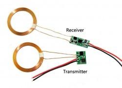 Elecfreaks Kablosuz Şarj Modülü - 12V Çıkış, 600mA, 2cm max - Thumbnail